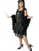 Black Jazz Flapper Costume buy now