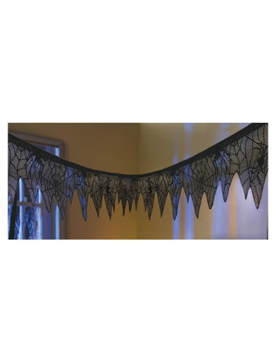 Black Lace Mesh Garland buy now