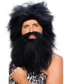 Black Prehistoric Wig and Beard buy now