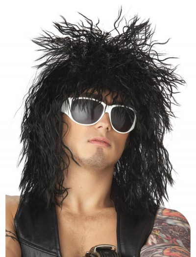 Black Rocker Dude Wig buy now