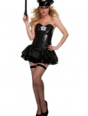 Black Sequin Cop Costume buy now