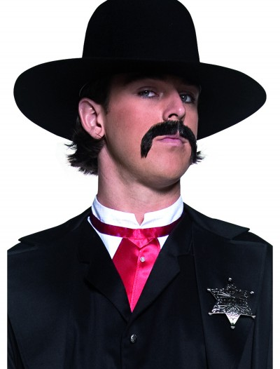 Black Western Sheriff Hat buy now
