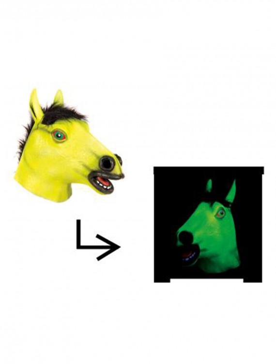 Blacklight Horse Mask buy now