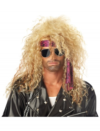 Blonde Heavy Metal Wig buy now