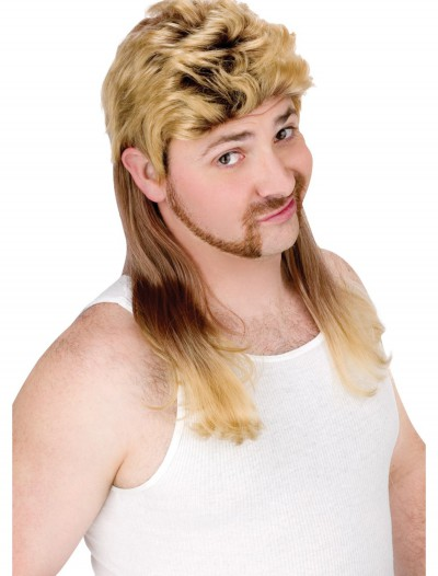Blonde Mullet Wig buy now