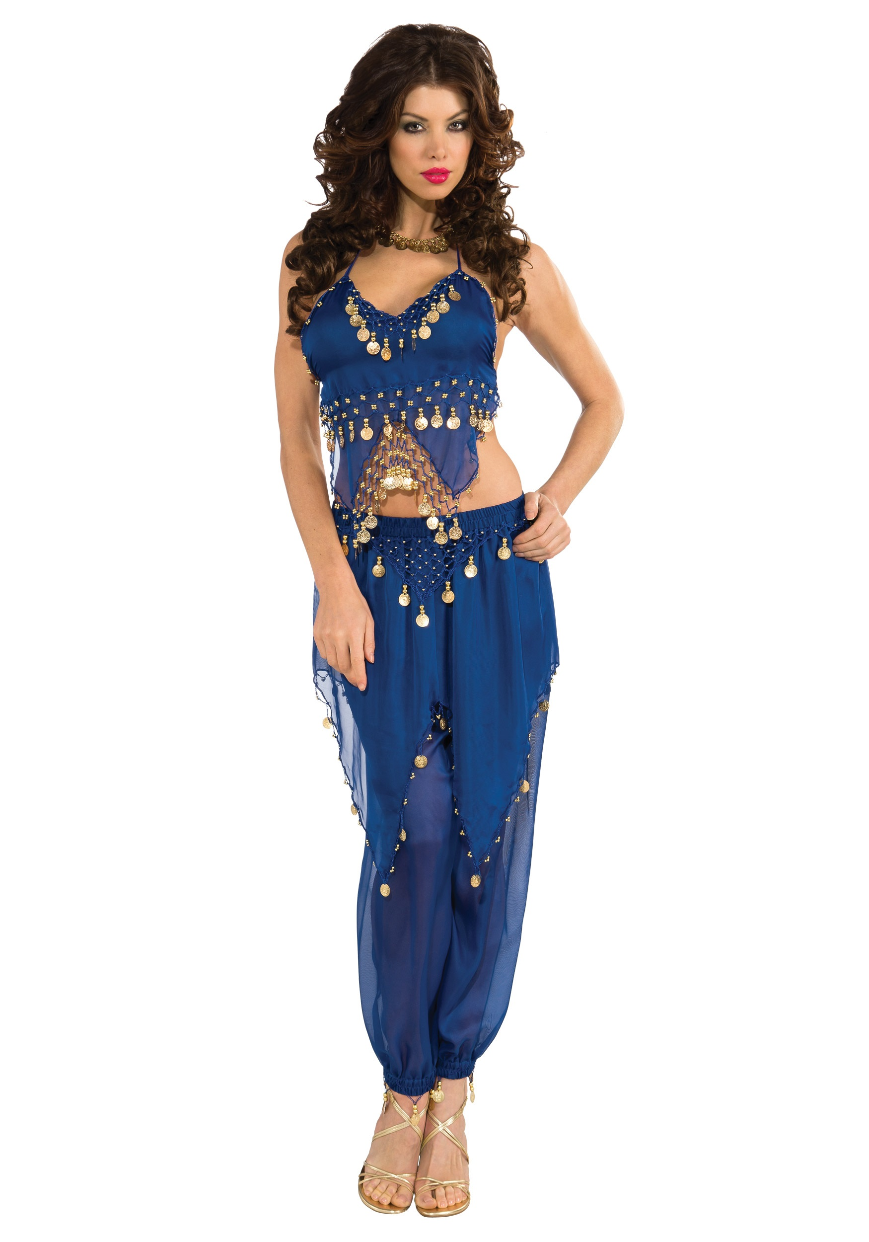 Blue Belly Dancer Costume  sc 1 st  Halloween Costumes : cute gypsy costumes  - Germanpascual.Com