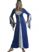 Blue Regal Princess Renaissance Costume buy now