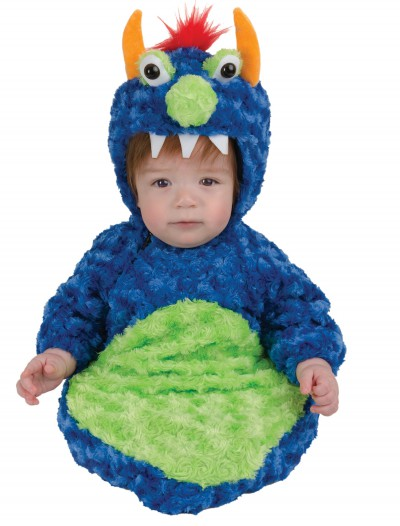 Infant Blue Swirl Monster Bunting buy now