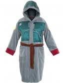 Boba Fett Adult Hooded Bath Robe buy now