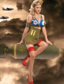 Bomber Girl Costume buy now