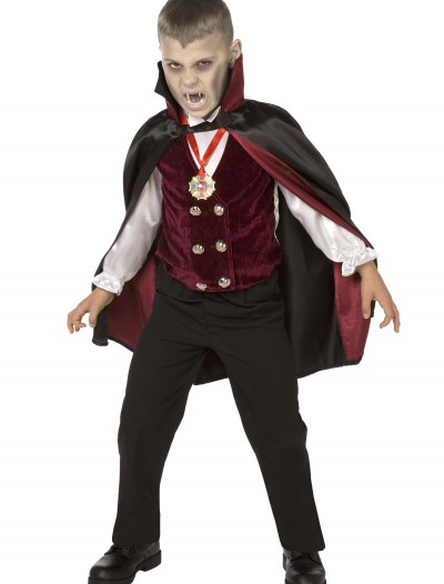 Boy Child Deluxe Vampire Costume buy now