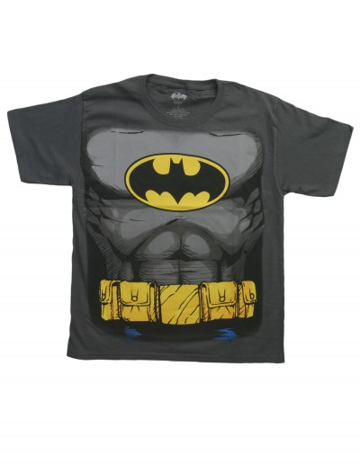 Boys Batman Costume T-Shirt buy now