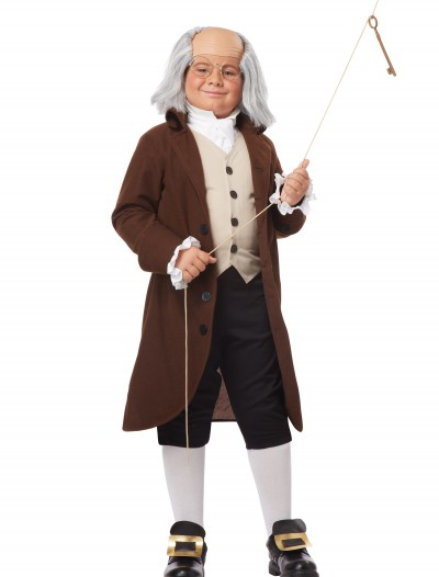 Boys Benjamin Franklin Costume buy now