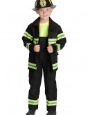 Boys Black Fireman Costume buy now