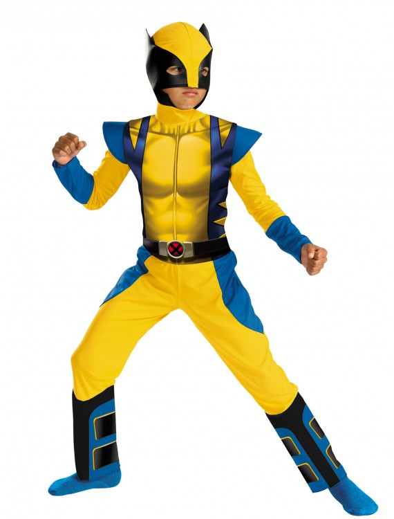 Boys Classic Wolverine Costume buy now