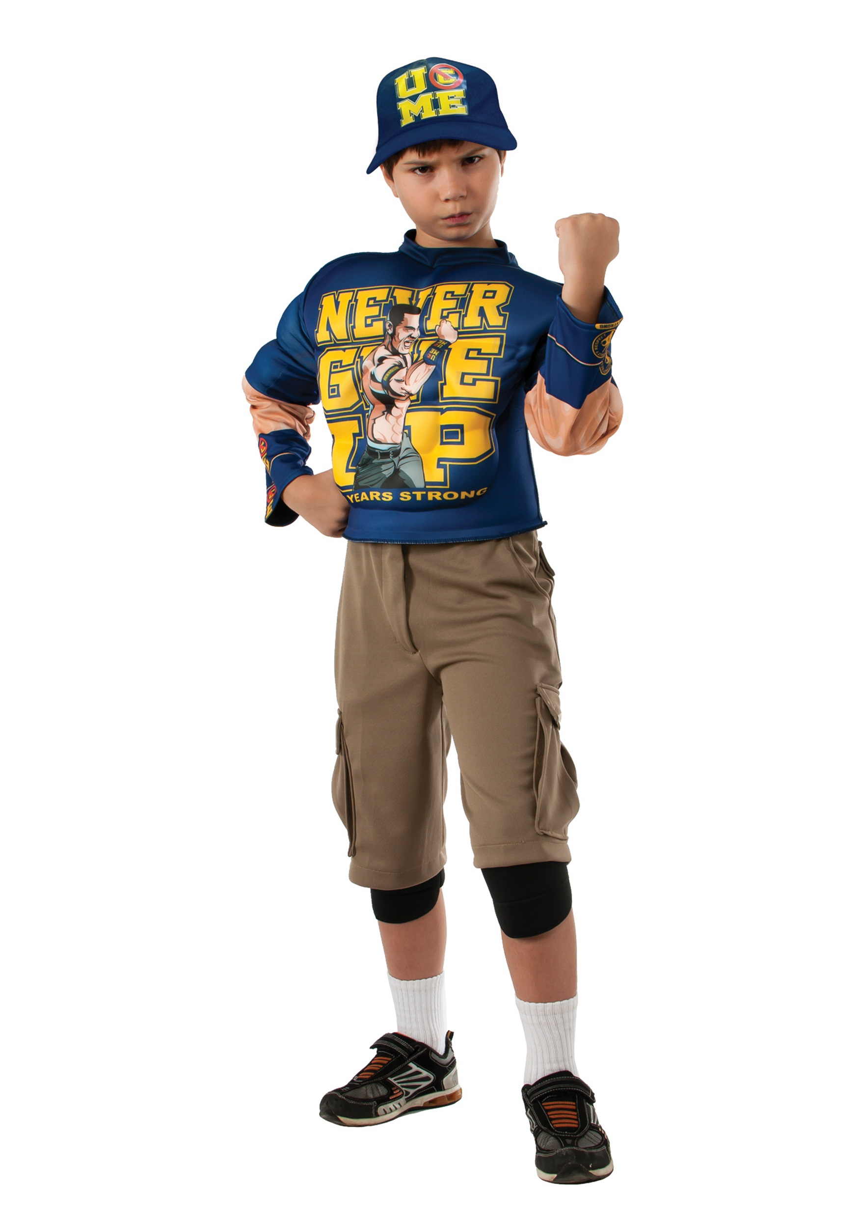 Boys Deluxe WWE John Cena Costume  sc 1 st  Halloween Costumes : amazon costumes kids  - Germanpascual.Com