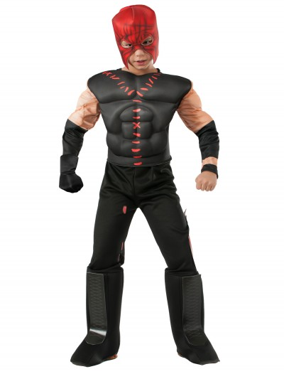 Boys Deluxe WWE Kane Costume buy now