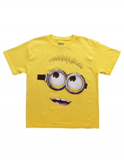 Boys Despicable Me 2 Big Head Costume T-Shirt buy now