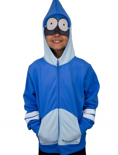 Boys Regular Show Mordecai Costume Hoodie buy now
