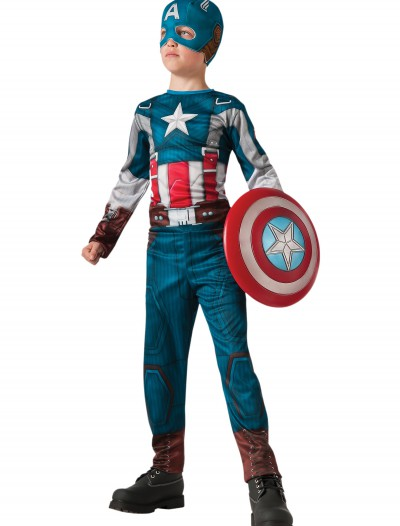 Boys Retro Captain America Costume buy now
