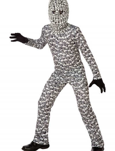 Boys Skull Collector Costume buy now