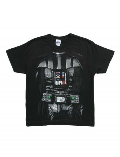 Boys Star Wars Darth Vader Costume T-Shirt buy now