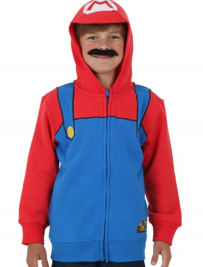 Boys Super Mario Costume Hoodie buy now