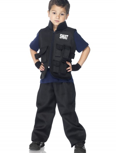Boys SWAT Commander Costume buy now