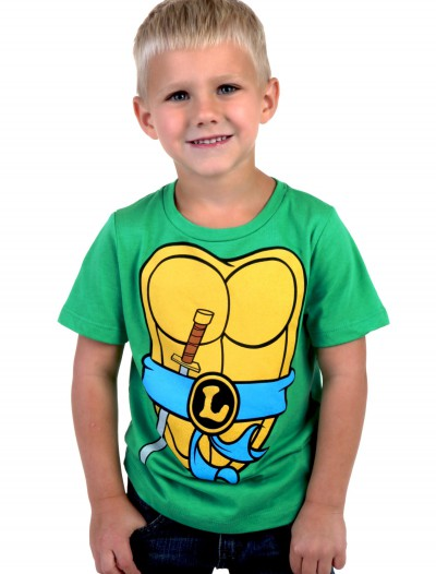 Boys TMNT Leonardo Costume T-Shirt buy now