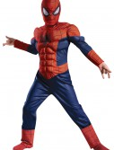 Boys Ultimate Spider-Man Muscle Light Up Costume buy now
