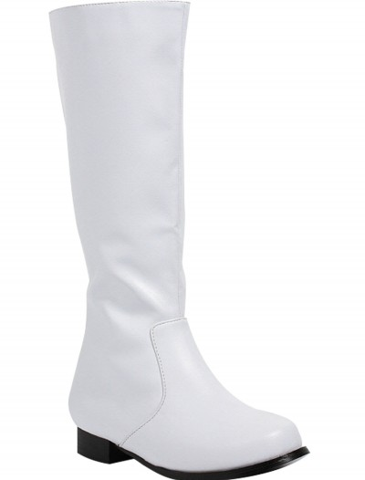 Boys White Costume Boots buy now