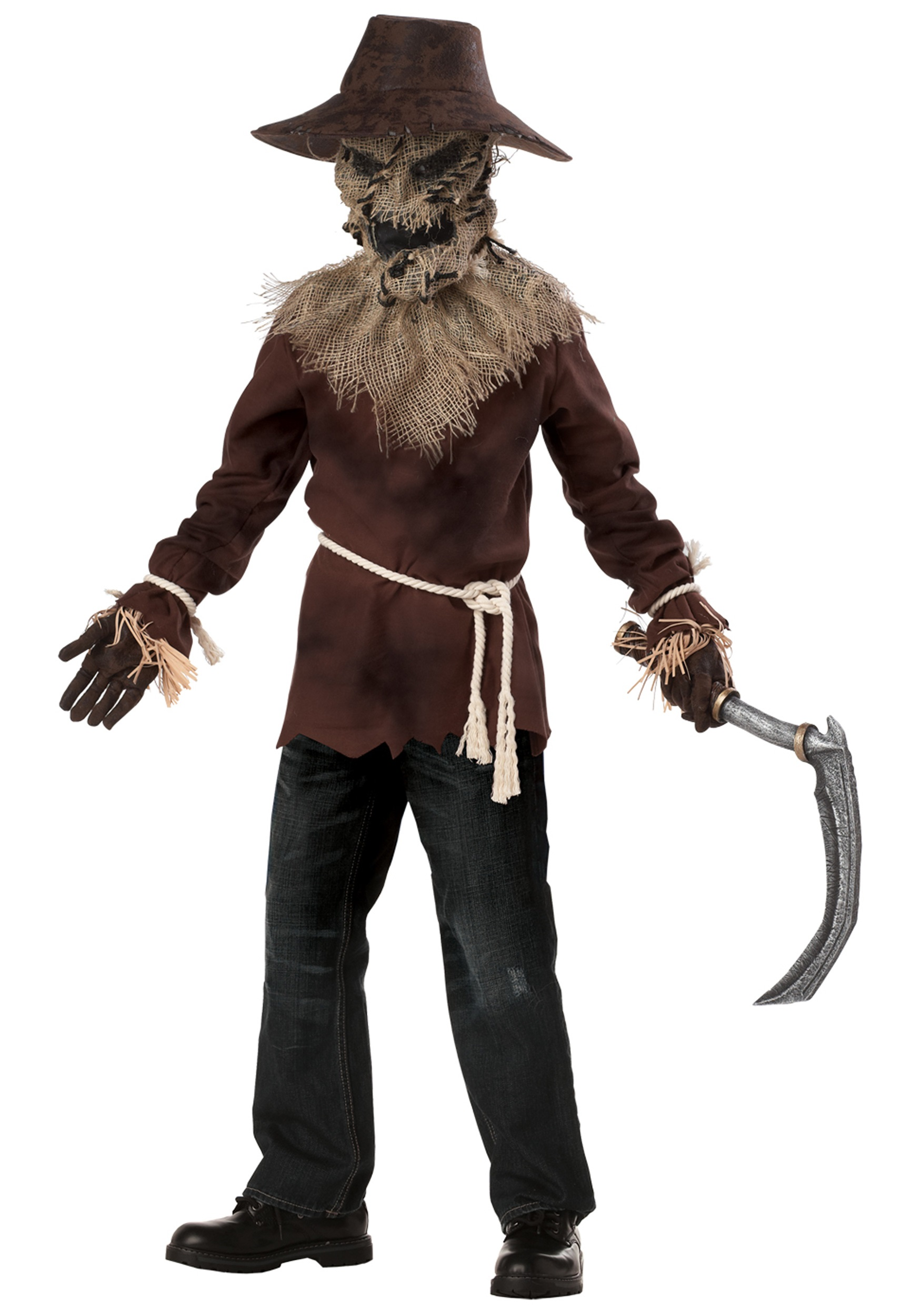 Boys Wicked Scarecrow Costume - Halloween Costumes