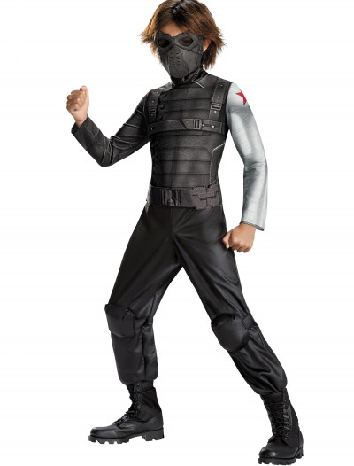 Boys Winter Soldier Classic Costume buy now