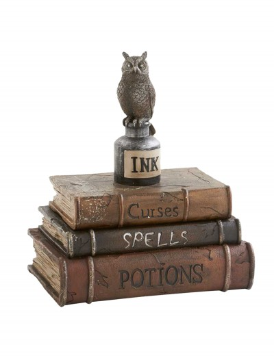 Brown Book Box w/ Owl buy now