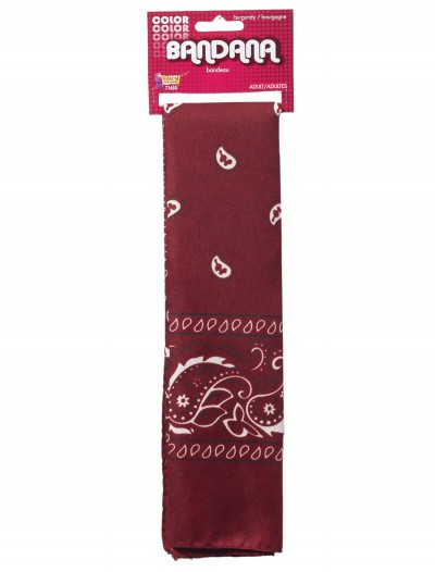 Burgundy Bandana buy now