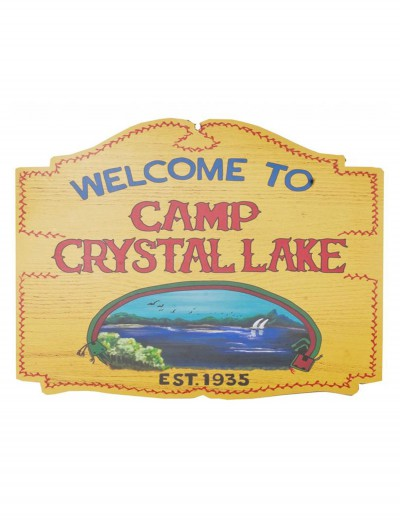 Camp Crystal Lake Sign buy now