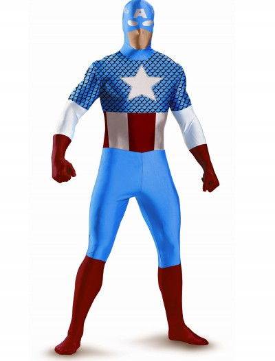 Captain America Bodysuit Costume buy now