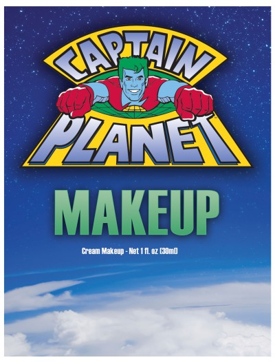 Captain Planet Blue Makeup buy now