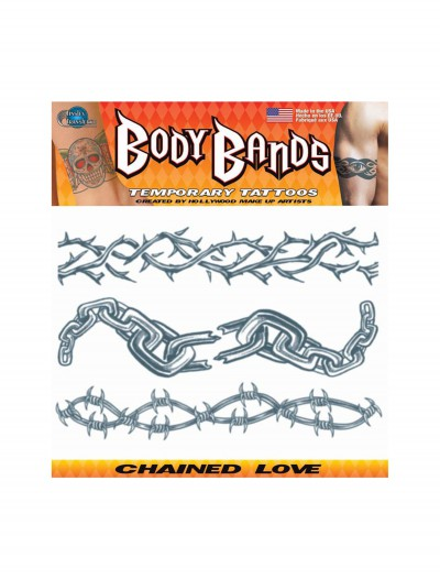 Chained Love Temporary Tattoos buy now
