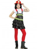 Chief Cutie Firefighter Child Costume buy now