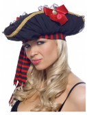 Chiffon Ruched Pirate Hat buy now