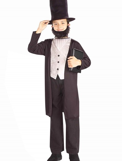 Child Abraham Lincoln Costume buy now