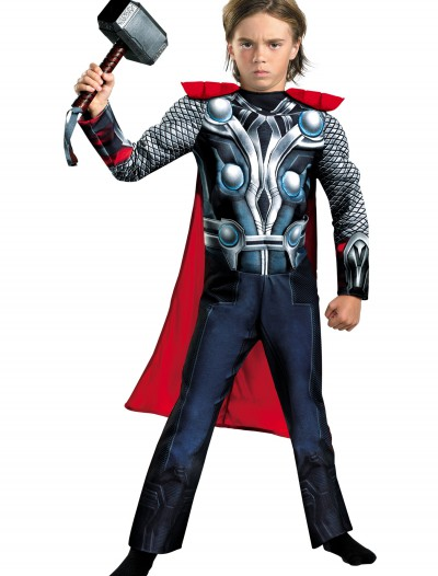 Child Avengers Thor Muscle Costume buy now