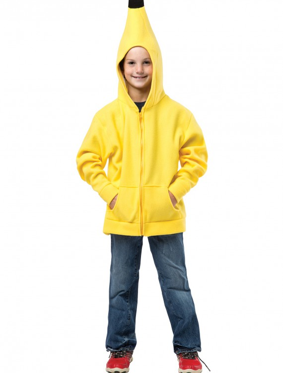 Child Banana Hooded Sweatshirt buy now