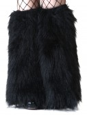 Child Black Furry Boot Covers buy now