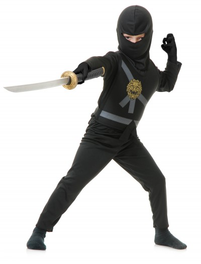 Child Black Ninja Master Costume buy now