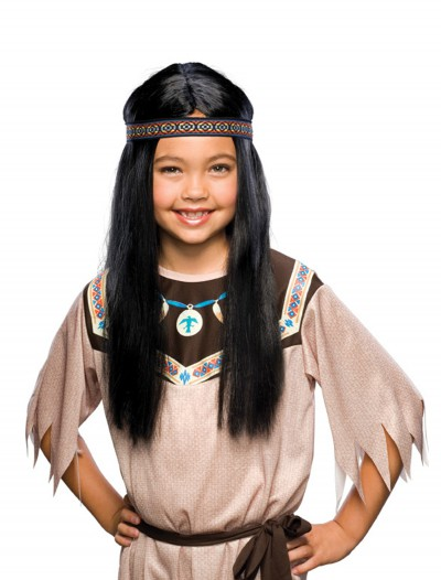 Child Black Pocahontas Wig buy now