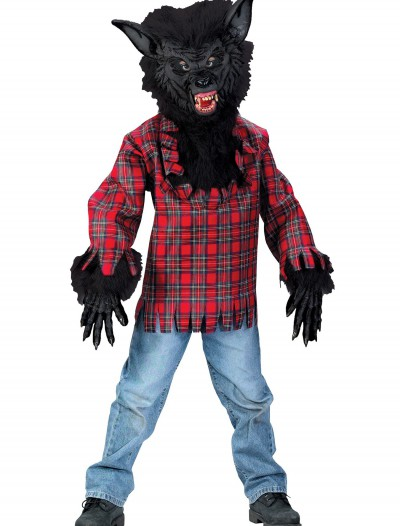Child Black Werewolf Costume buy now