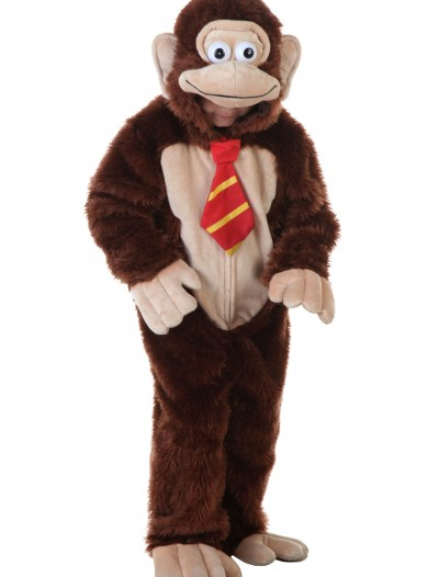 Child Brown Gorilla w/ Tie Costume buy now
