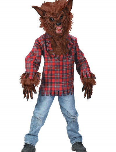 Child Brown Werewolf Costume buy now